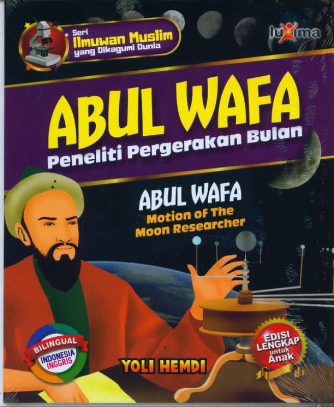 Cover Buku ABUL WAFA: peneliti pergerakan bulan