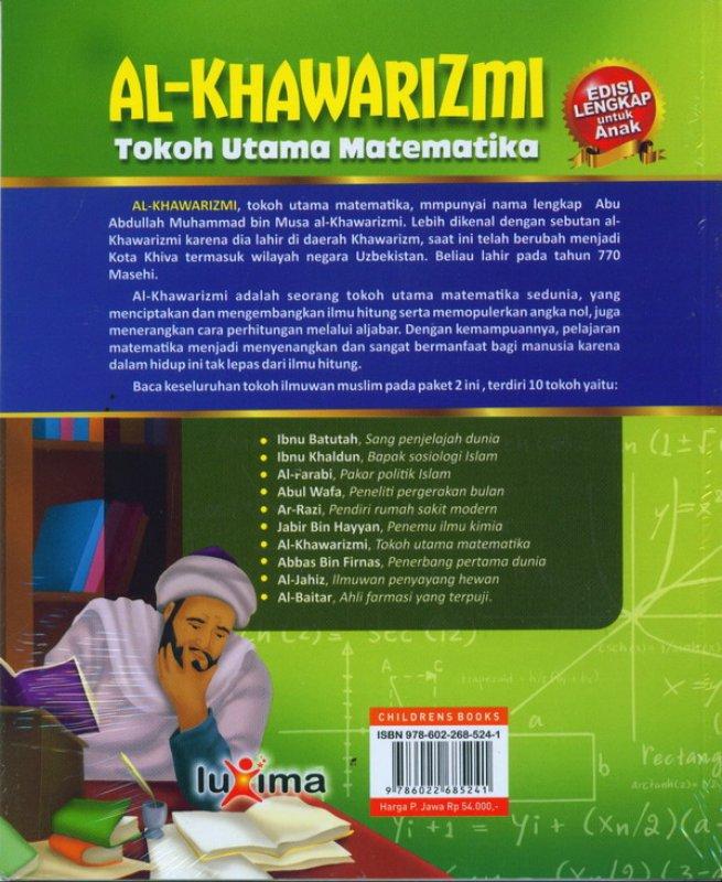 Cover Belakang Buku AL-KHAWARIZMI