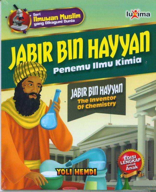 Cover Buku JABIR BIN HAYYAN