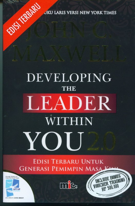 Cover DEVELOPING THE LEADER WITHIN YOU 2.0 ( Edisi Terbaru)
