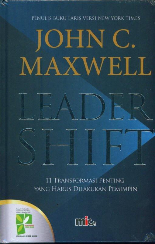Cover Buku LEADER SHIFT