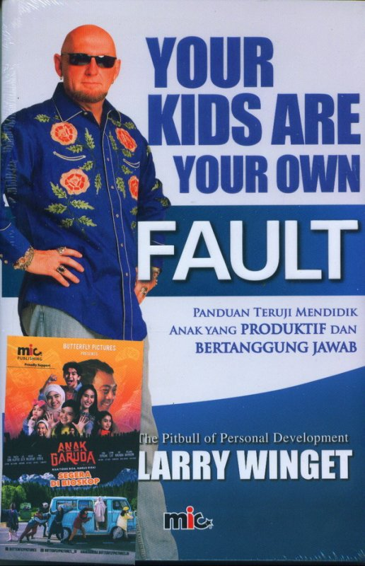 Cover Buku Your Kids Are Your Own Fault