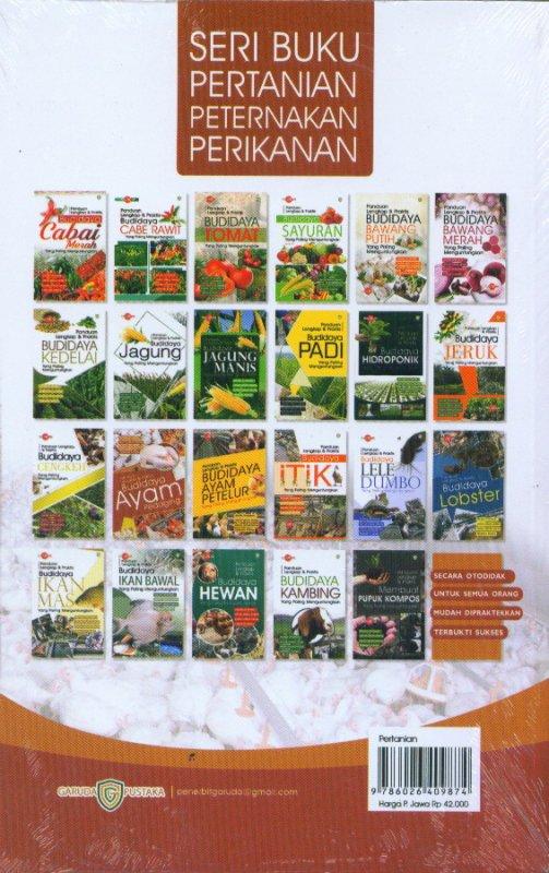 Cover Belakang Buku Panduan Lengkap & Praktis Budidaya AYAM Pedaging