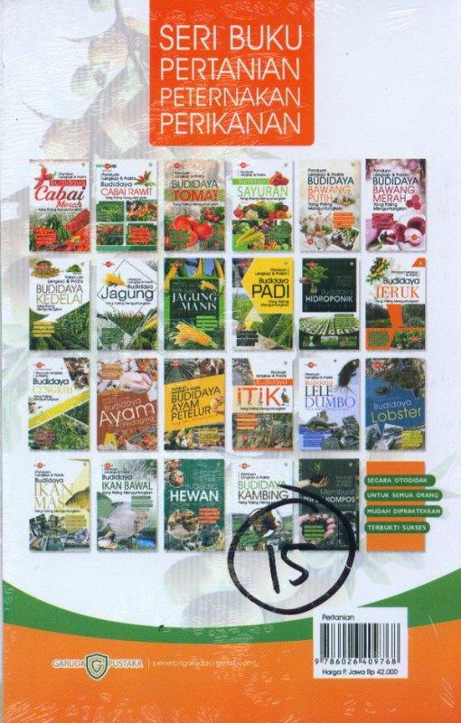 Cover Belakang Buku Panduan Lengkap & Praktis Budidaya JERUK