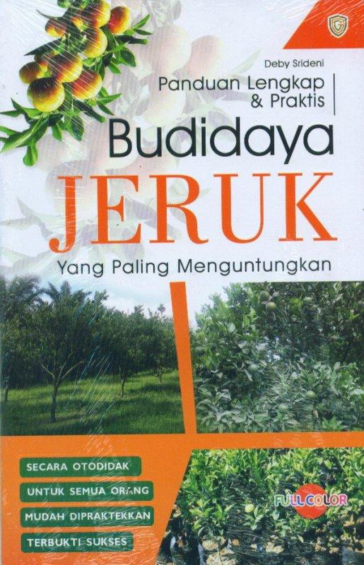 Cover Buku Panduan Lengkap & Praktis Budidaya JERUK