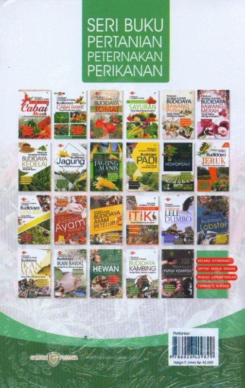 Cover Belakang Buku Panduan Lengkap & Praktis Budidaya CABAI RAWIT