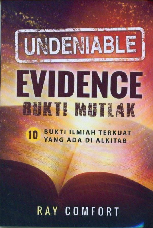 Cover Buku EVIDENCE Buku Mutlak
