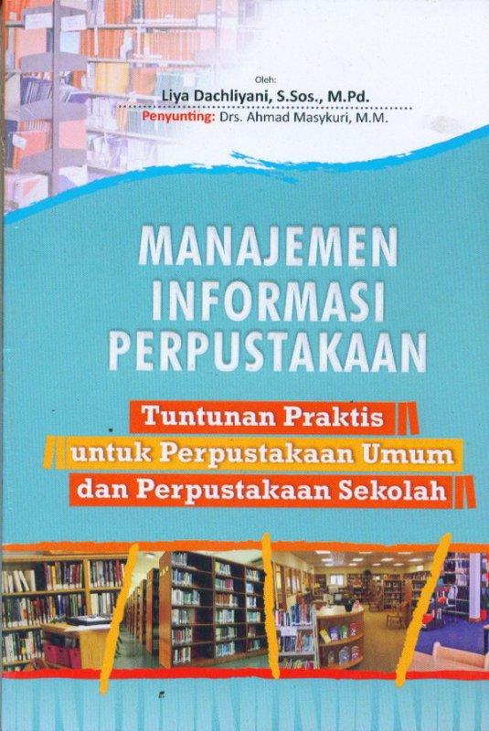 Cover Buku Manajeman Infornasi Perpustakaan