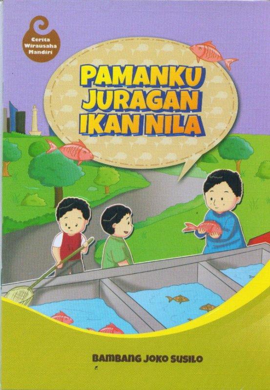 Cover Buku Pamanku Juragan Ikan Nila