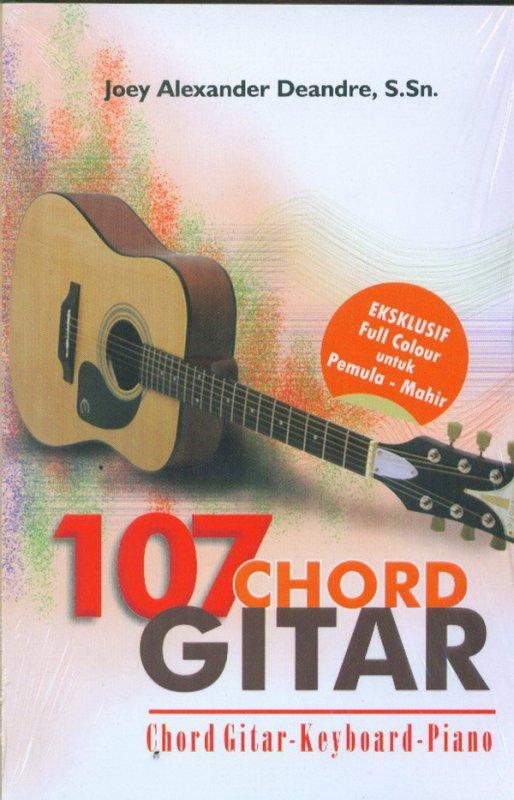 Cover Buku 107 CHORD GITAR