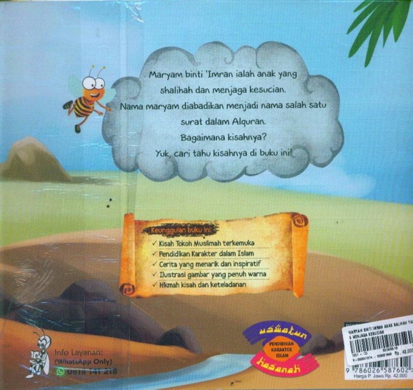 Cover Belakang Buku Maryam Binti Imran