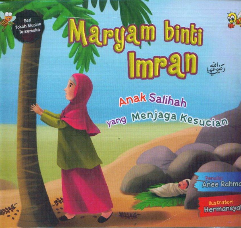 Cover Buku Maryam Binti Imran