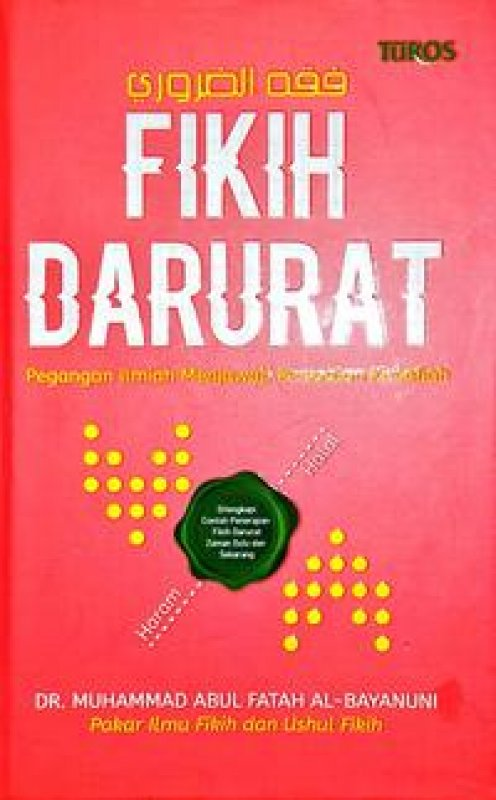 Cover Buku FIKIH DARURAT (Hard COVER)