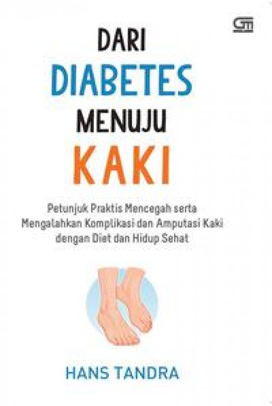 Cover Buku Dari Diabetes Menuju Kaki