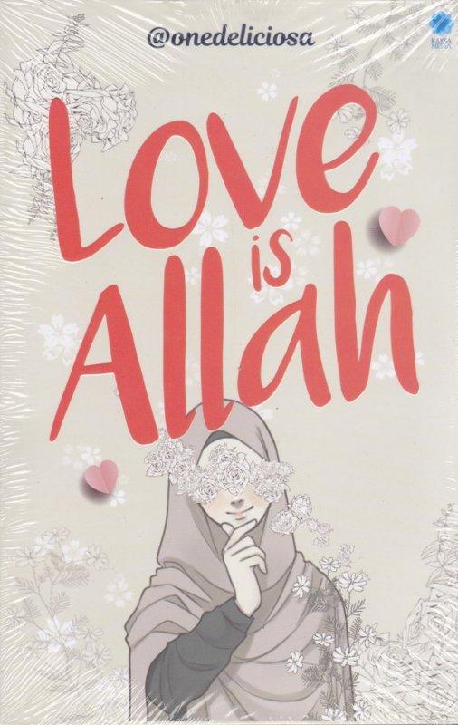 Cover Buku Love Is Allah
