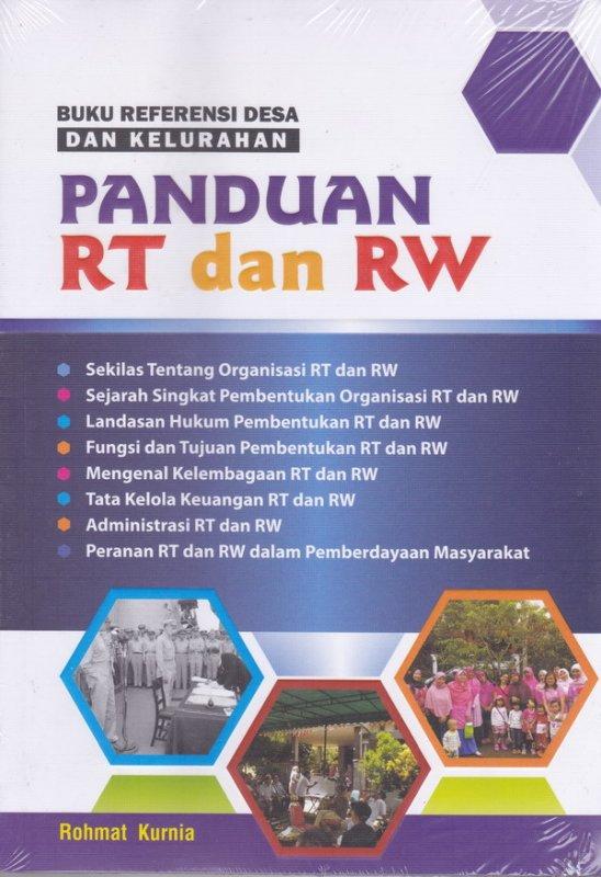 Cover Buku Buku Referensi Desa Dan Kelurahan Panduan RT Dan RW