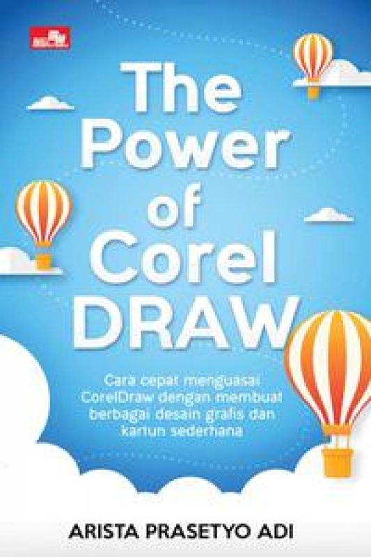 Cover Buku The Power of Coreldraw new