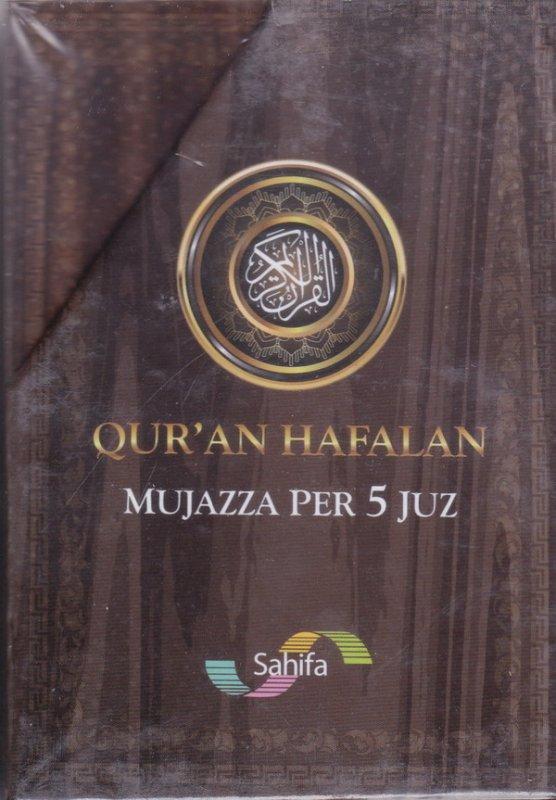 Cover Belakang Buku Qur'an Hafalan Mujazza Per 5 Juz
