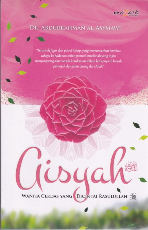 Cover Buku Aisyah Wanita Cerdas Yang Dicintai Rasullullah