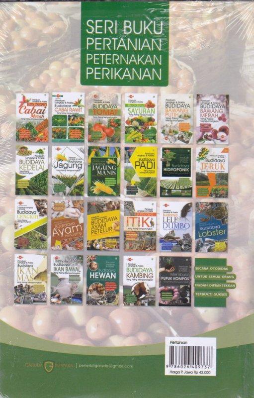 Cover Belakang Buku Panduan lengkap & Praktis : Budidaya Tomat yang paling menguntungkan