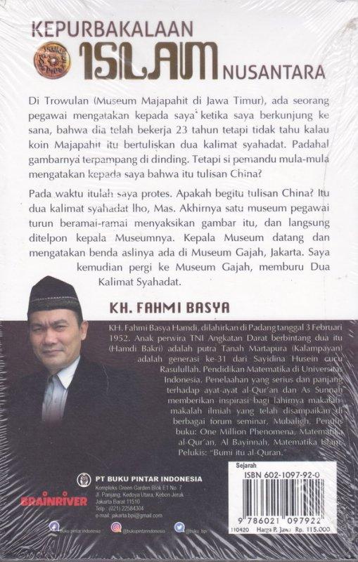 Cover Belakang Buku Kepurbakalan Islam Nusantara