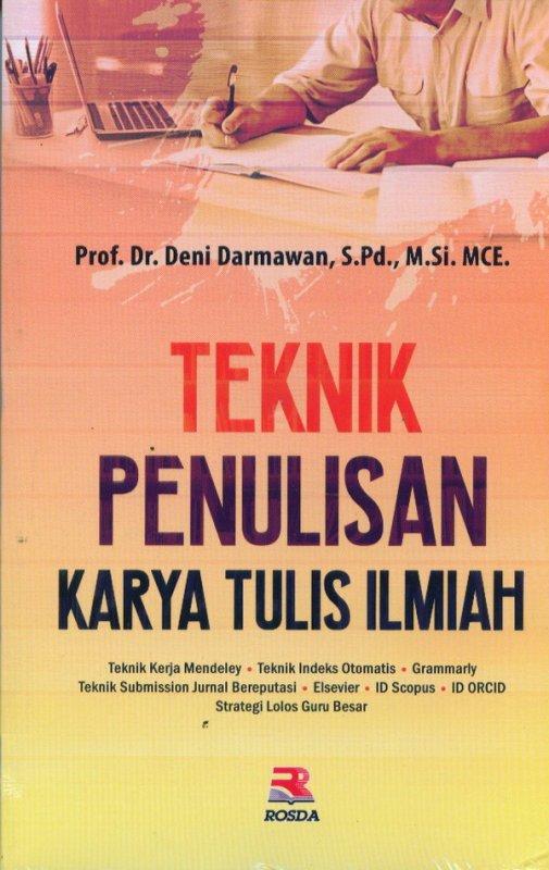 Cover Buku Teknik Penulisan Karya Tulis Ilmiah