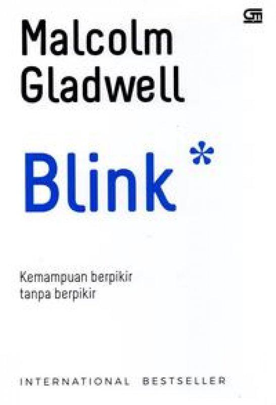 Cover Buku Blink (Cover Baru2020) Isbn Lama