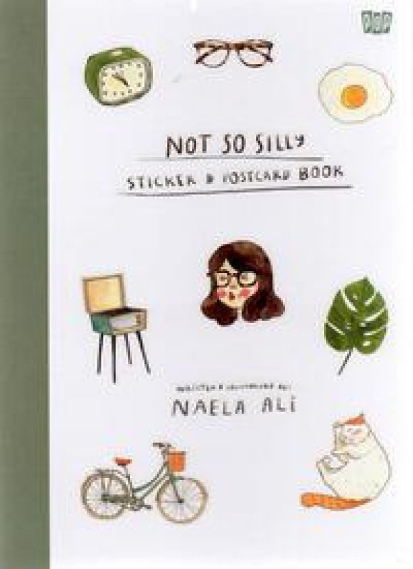 Cover Buku Not So Silly Sticker & Postcard Book