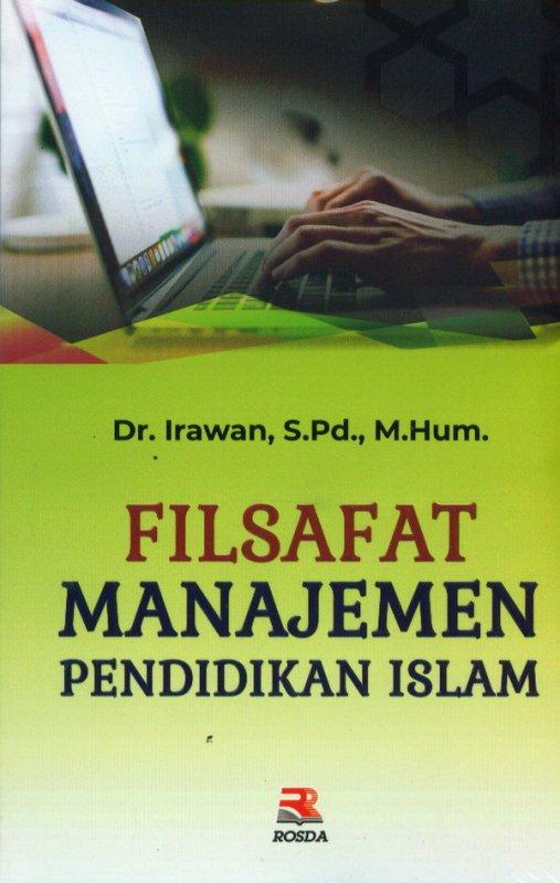 Cover Buku Filsafat Manajamen Pendidikan Islam