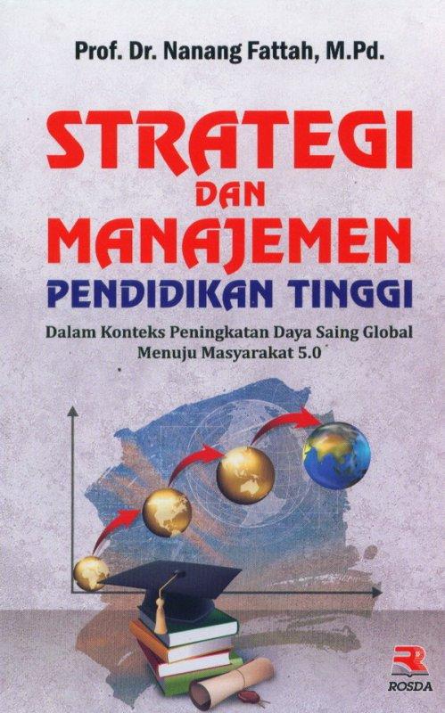Cover Buku Strategi dan Manajamen Pendidikan Tinggi
