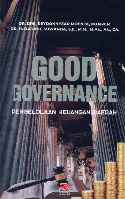Cover Buku GOOD GOVERNANCE (pengelolaan keuangan daerah)