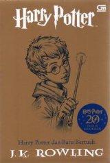 Detail Buku Harry Potter dan Batu Bertuah cover 2020(Harry Potter and The Philosopher