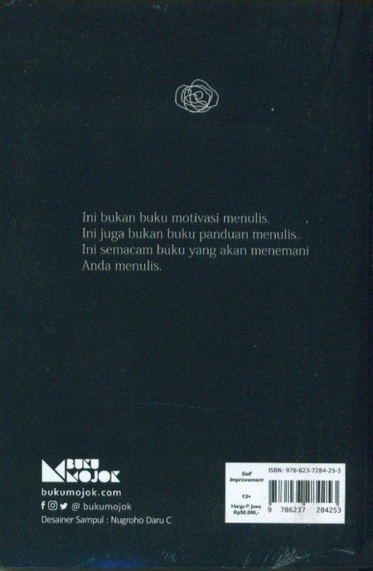 Cover Belakang Buku Buku Latihan Untuk Calon Penulis