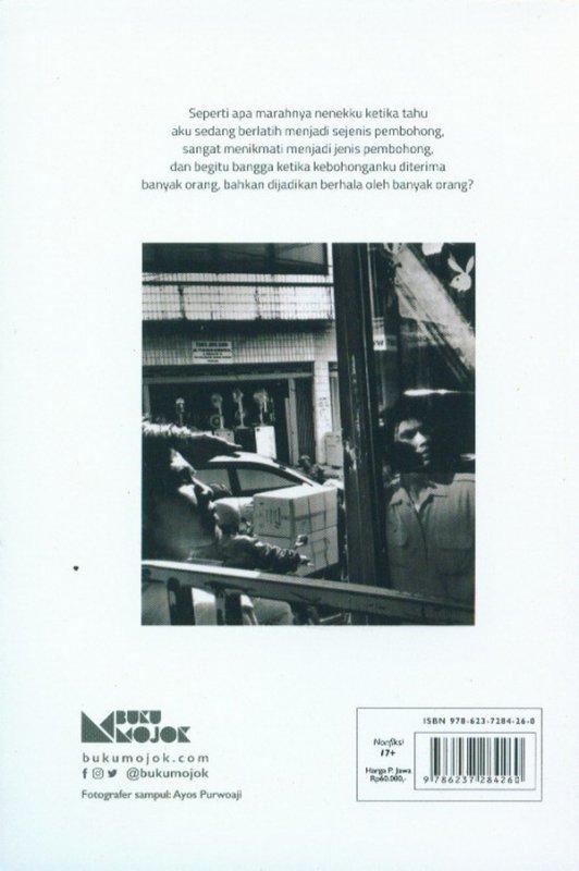 Cover Belakang Buku Seikat Kisah Tetang Yang Bohong