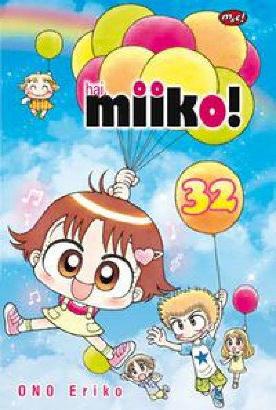 Cover Buku Hai, Miiko! 32 (bonus postcard)