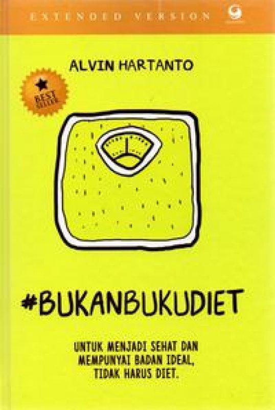 Cover Buku #BukanBukuDiet Extended Version