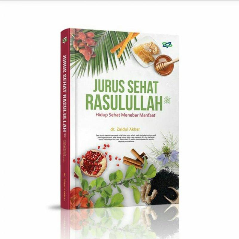 Cover Buku Jurus Sehat Rasulullah (Pre-order) (Cover Baru)