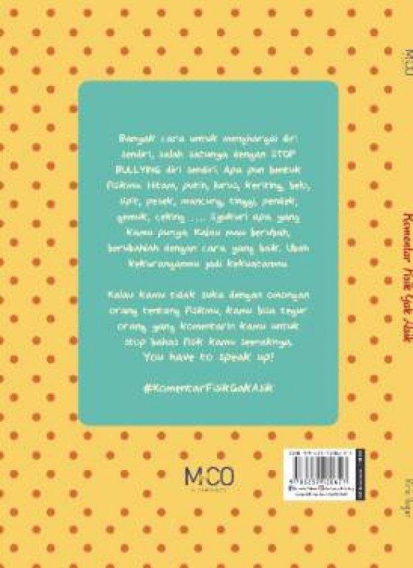 Cover Belakang Buku Komentar Fisik Gak Asik