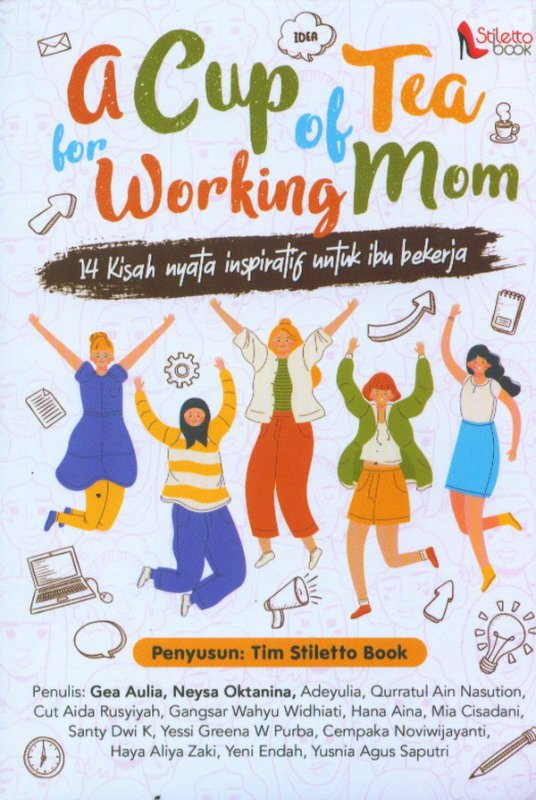 Cover Buku A Cup of Tea For Working Mom