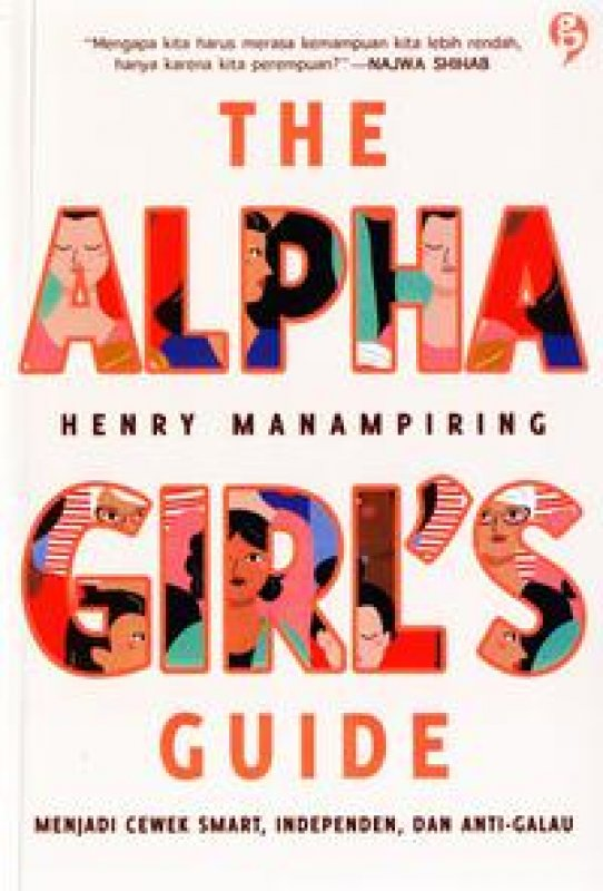 Cover Buku The Alpha Girls Guide new