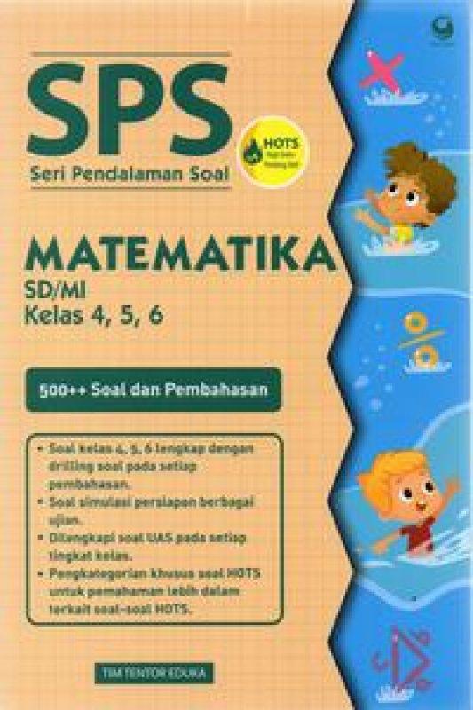 Cover Buku Seri Pendalaman Soal Ulangan Matematika 4,5,6 Sd/Mi
