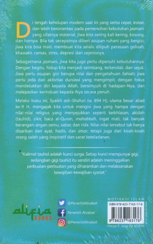 Cover Belakang Buku Nasihat Langit Penentram Jiwa 1 (Akidah)