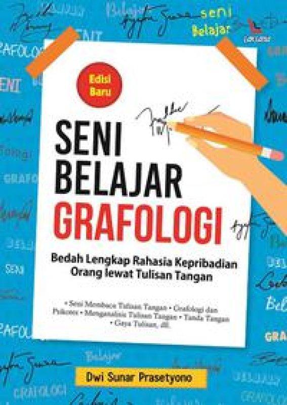 Cover Buku Seni Belajar Grafologi