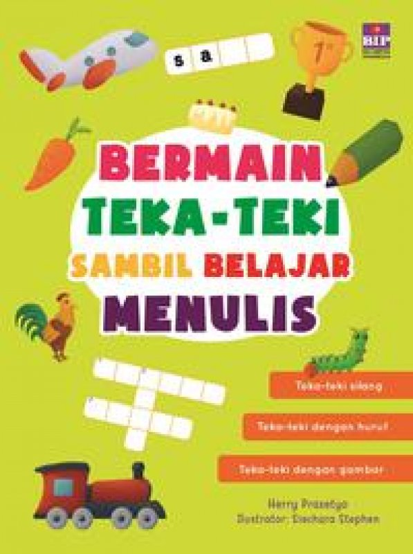 Cover Buku Bermain Teka-Teki Sambil Belajar Menulis
