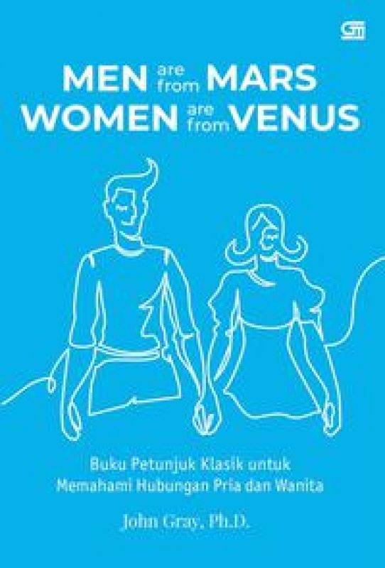 Cover Buku Men Are from Mars, Women Are from Venus Cover Baru Isbn Lama