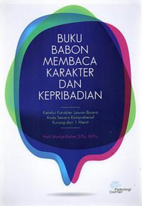 Cover Buku Buku Babon Membaca Karakter Dan Kepribadian