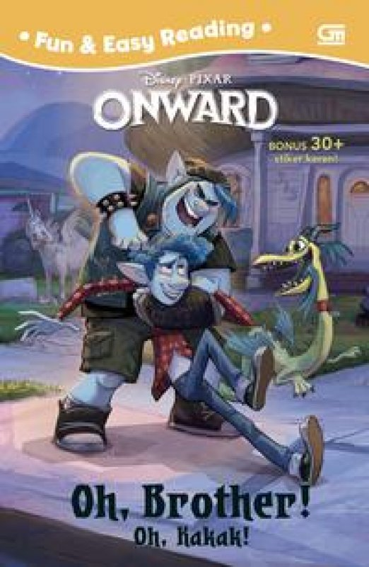 Cover Buku Onward: Oh, Kakak! (Onward: Oh, Brother!)