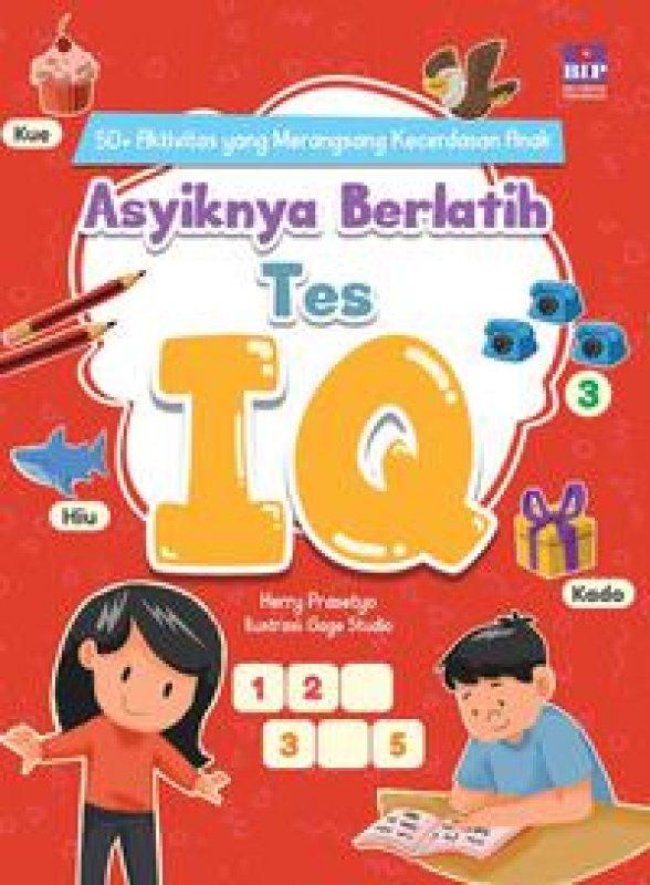 Cover Buku Asyiknya Berlatih Tes Iq