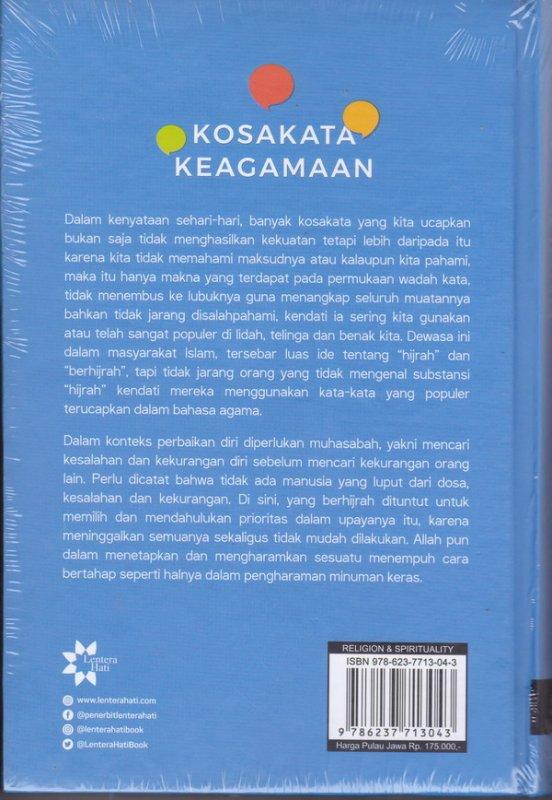 Cover Belakang Buku KOSAKATA KEAGAMAAN ( M. QUraish Shihab )