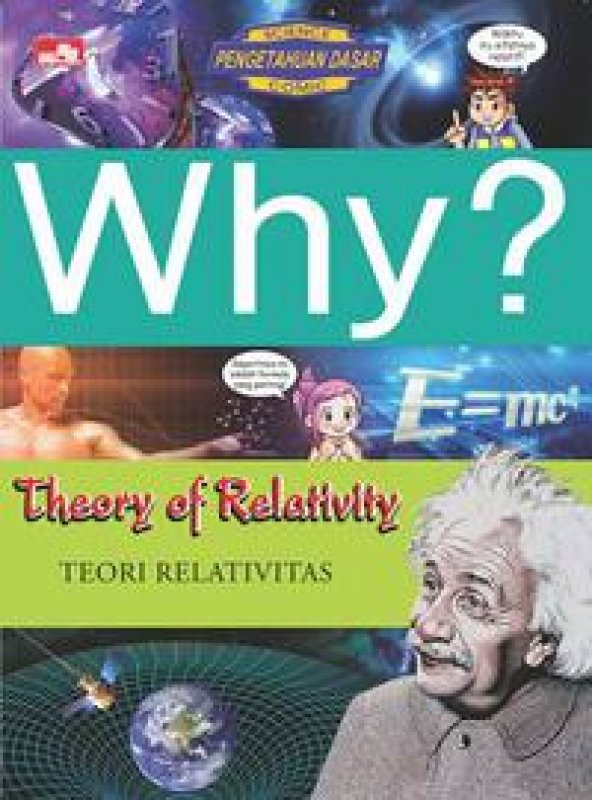 Cover Buku Why? Theory Of Relativity